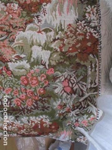 Antigüedades: Gran tapiz de 1,65 cm x 1,95 cm. - Foto 2 - 107296375