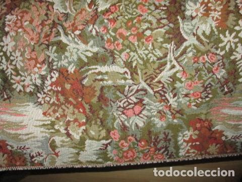 Antigüedades: Gran tapiz de 1,65 cm x 1,95 cm. - Foto 5 - 107296375