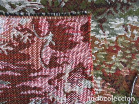 Antigüedades: Gran tapiz de 1,65 cm x 1,95 cm. - Foto 7 - 107296375