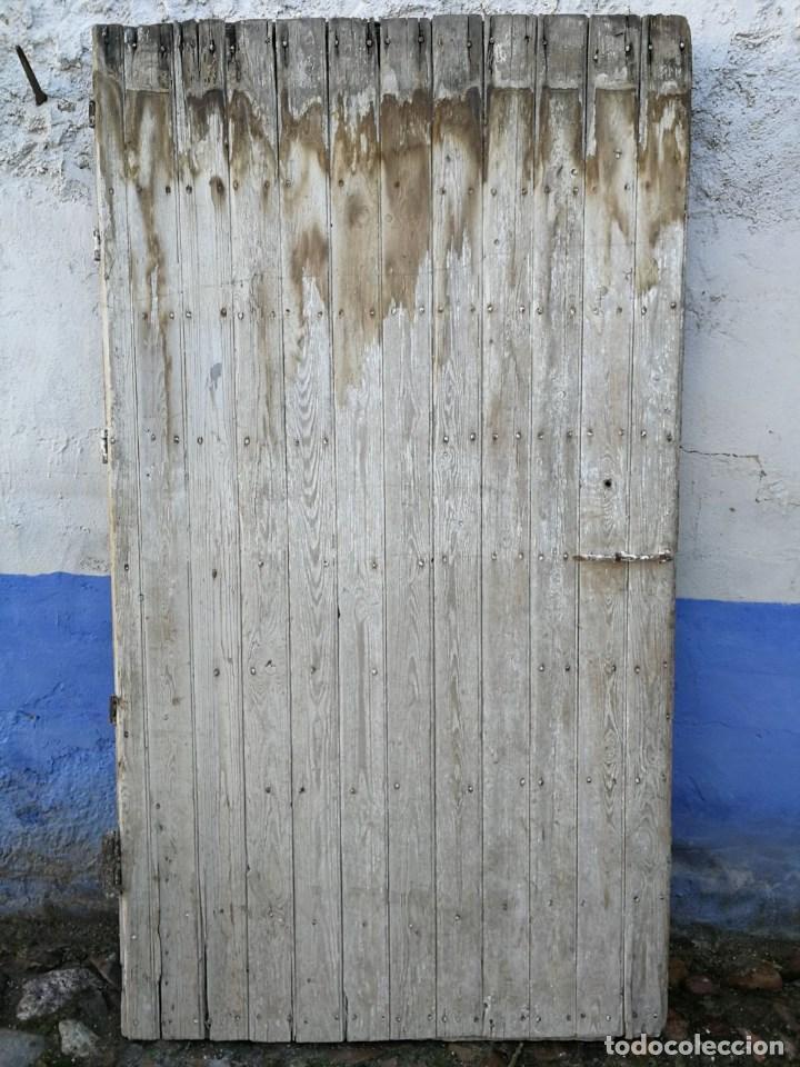 puerta antigua con marco y candado sin llave de - Comprar ...