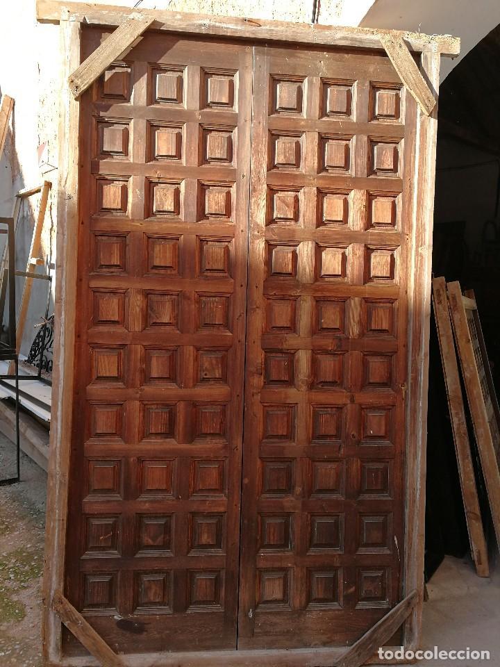 puerta castellana con marco de doble hoja. muy - Comprar ...