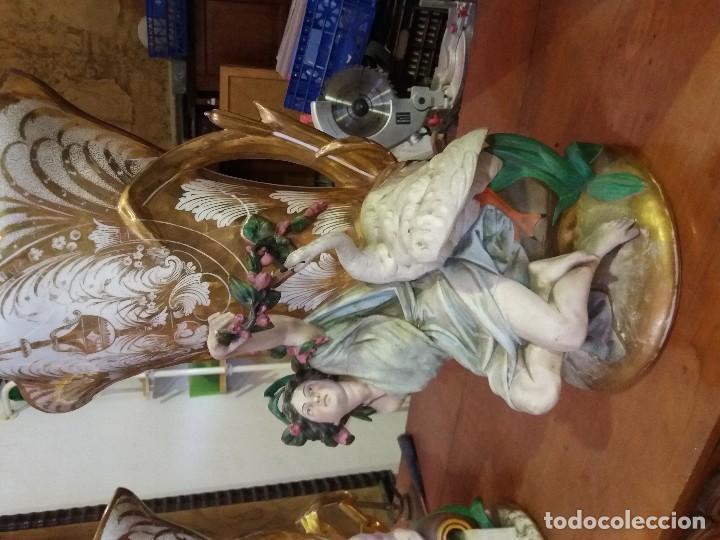 PAREJA DE JARRONES CEBRE (Antigüedades - Porcelanas y Cerámicas - Otras)
