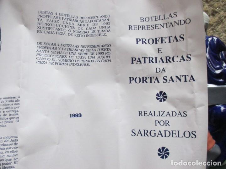 Antigüedades: BOTELLA AGUARDIENTE PROFETA PORTICO DE LA GLORIA ' SAN LUCAS ' NUMERADA 1291/1993, INC CAJA + INFO - Foto 8 - 107349379