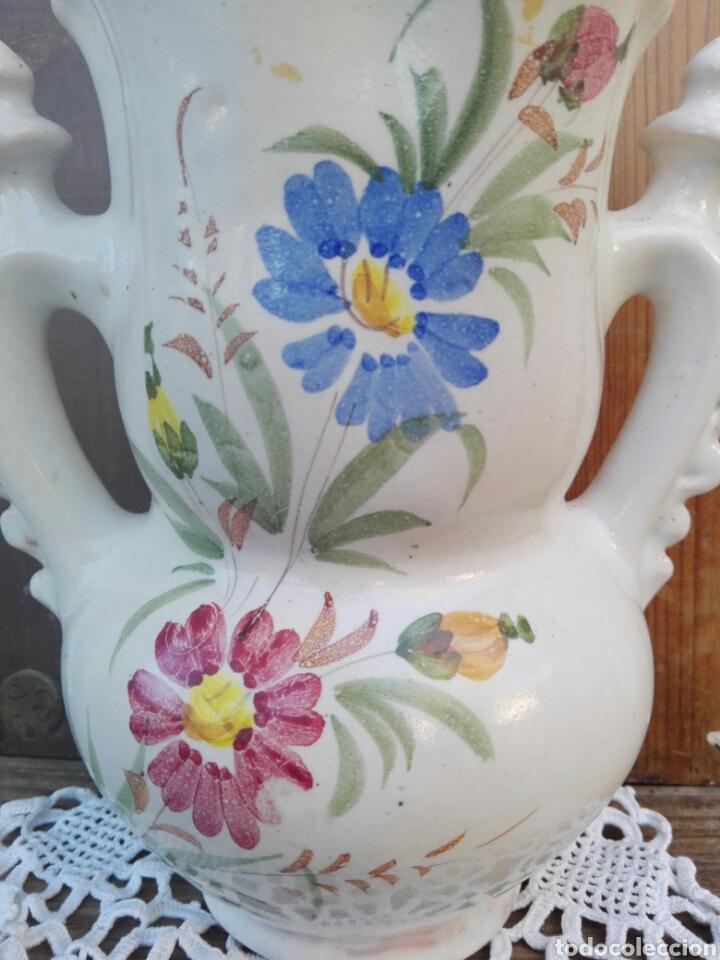 Antigüedades: Gran jarra de novia Murcia Ceramica Lario 26 cm - Foto 3 - 107351252