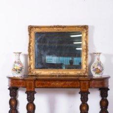 Antigüedades: CONSOLA ANTIGUA DE NOGAL. Lote 107366215