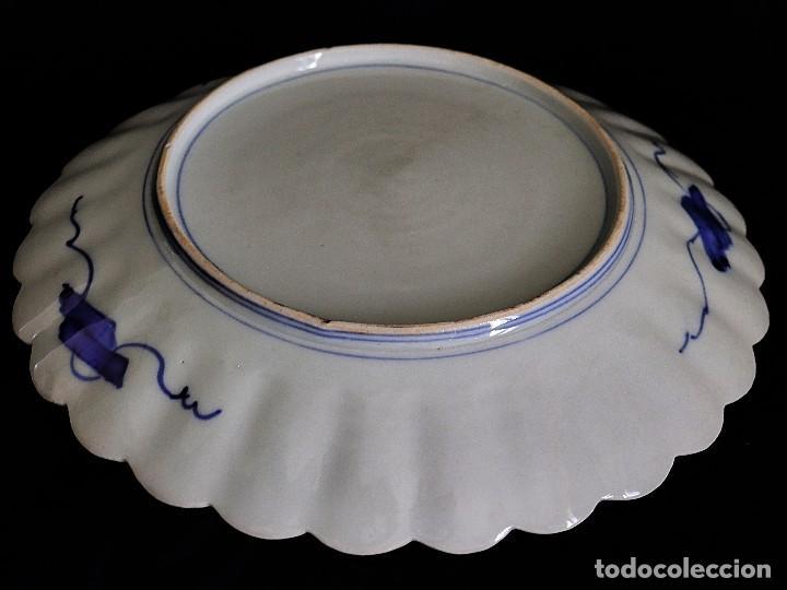 Antigüedades: antiguo plato de imari - Foto 6 - 107366643