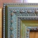 Antigüedades: MARCO A ESTRENAR PARA FORMATO 11X18 DE CHECA GALINDO. NUEVO. EXCELENTE CALIDAD.. Lote 107380387