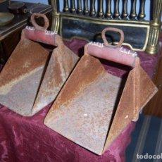Antigüedades: ESTRIBOS ANTIGUOS. Lote 107384283