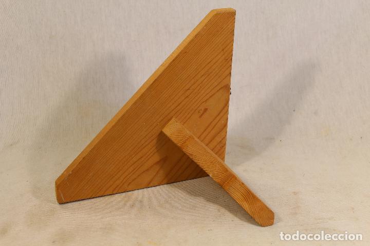 Antigüedades: repisa rinconera en madera de pino - Foto 2 - 107390287