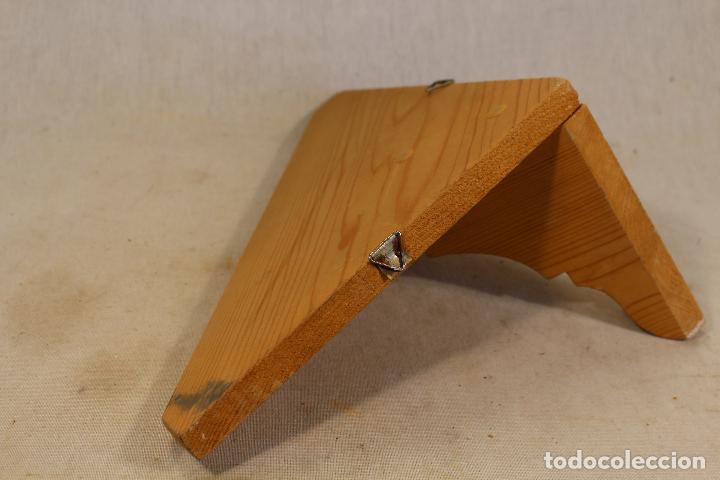 Antigüedades: repisa rinconera en madera de pino - Foto 3 - 107390287