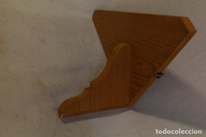 Antigüedades: repisa rinconera en madera de pino - Foto 4 - 107390287