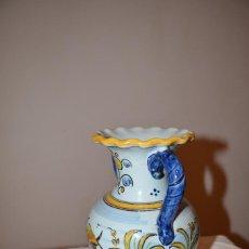 Antigüedades: JARRON DE TALAVERA. Lote 107414407