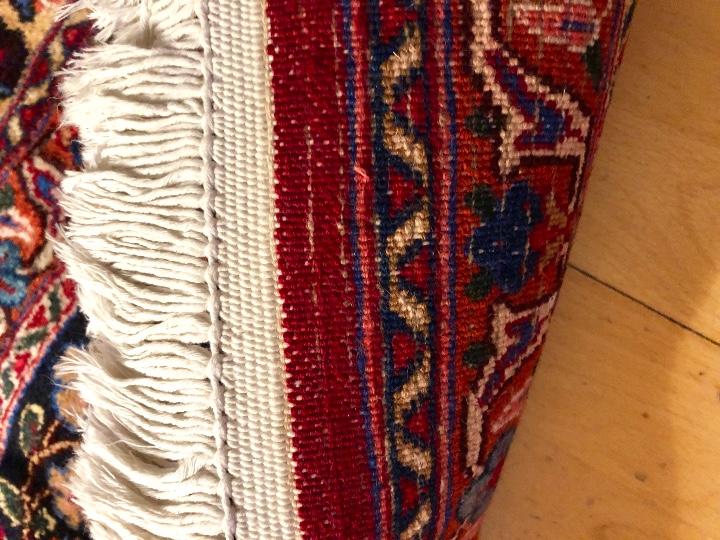 Antigüedades: 300x206cm Alfombra kaschmir, (persa) anudada a mano de lana pura - Foto 6 - 49359844