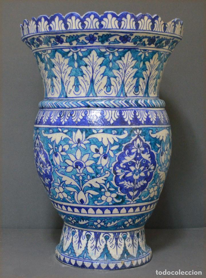 JARRÓN DE CERÁMICA DE IZNIK (Antigüedades - Porcelanas y Cerámicas - Otras)