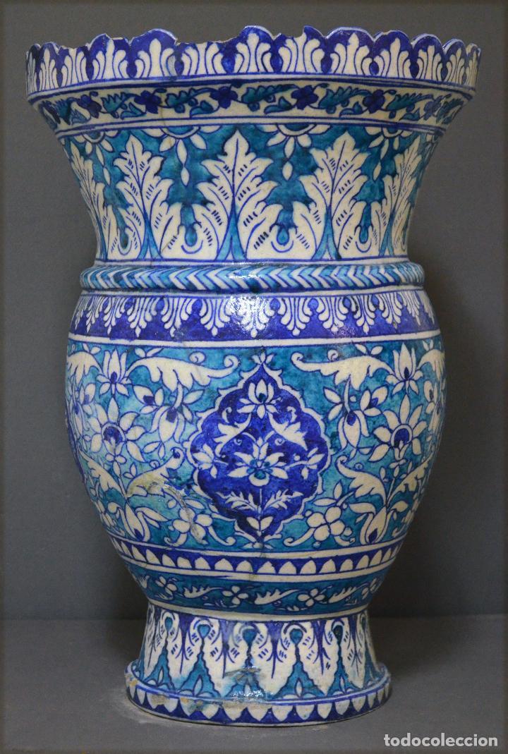 Antigüedades: Jarrón de cerámica de Iznik - Foto 2 - 107464463