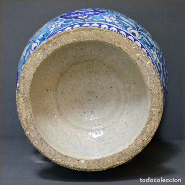 Antigüedades: Jarrón de cerámica de Iznik - Foto 6 - 107464463