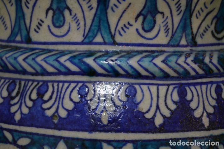 Antigüedades: Jarrón de cerámica de Iznik - Foto 7 - 107464463