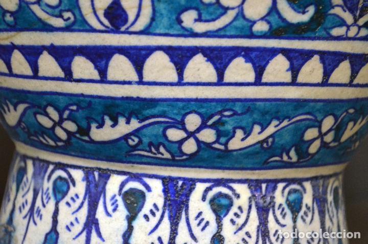 Antigüedades: Jarrón de cerámica de Iznik - Foto 8 - 107464463
