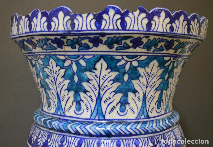 Antigüedades: Jarrón de cerámica de Iznik - Foto 9 - 107464463