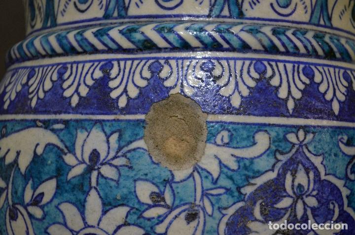 Antigüedades: Jarrón de cerámica de Iznik - Foto 11 - 107464463