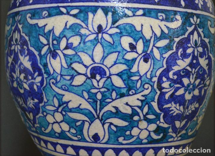 Antigüedades: Jarrón de cerámica de Iznik - Foto 13 - 107464463