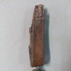 Antigüedades: CENCERRO CON CORREA DE CUERO. Lote 107495787