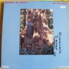 Discos de vinilo: LP - SEVILLANAS - RAFAEL DEL ESTAD - DE MIS RAICES (PASARELA 1986, PORTADA DOBLE). Lote 107502727