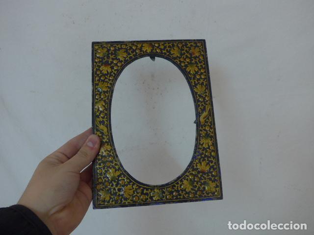 antiguo marco indio, pintado original, de la in - Comprar Marcos ...