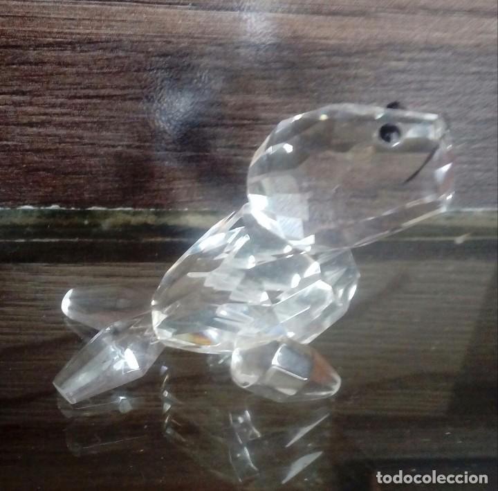 Antigüedades: Foca de cristal - Foto 2 - 107572435