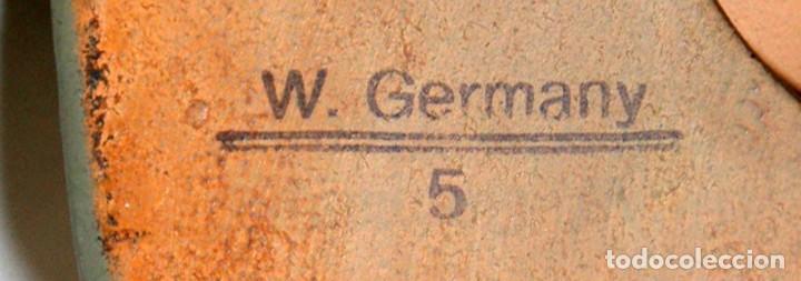 Antigüedades: FIGURA DE GNOMO EN TERRACOTA PINTADA. MANUFACTURA ALEMANA (HEISSNER GERMANY) - Foto 9 - 107587079