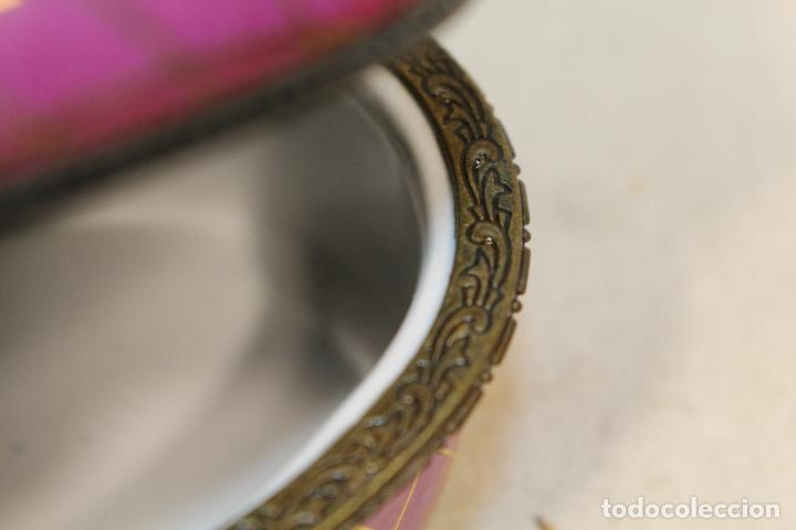 Antigüedades: caja joyero en porcelana - Foto 3 - 107626599