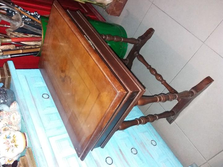 Antigüedades: MUY BONITO COSTURERO DE MARQUETERÍA - Foto 12 - 54678442