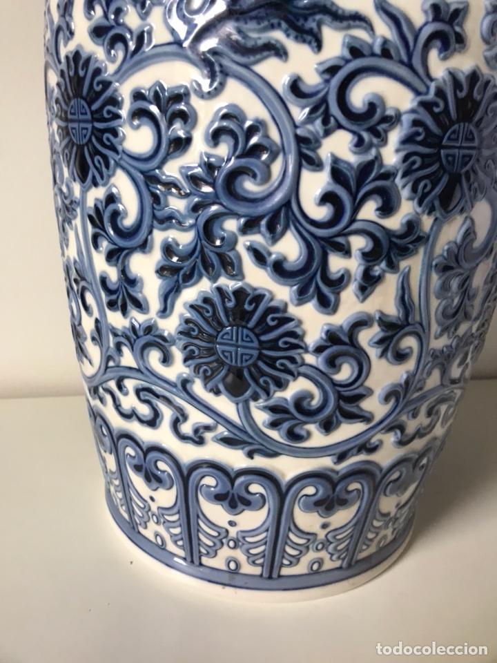 Antigüedades: Jarrón Porcelana- Lladró- Jarrón Pekín- 48 cm (Dispongo de la pareja) - Foto 2 - 107671610