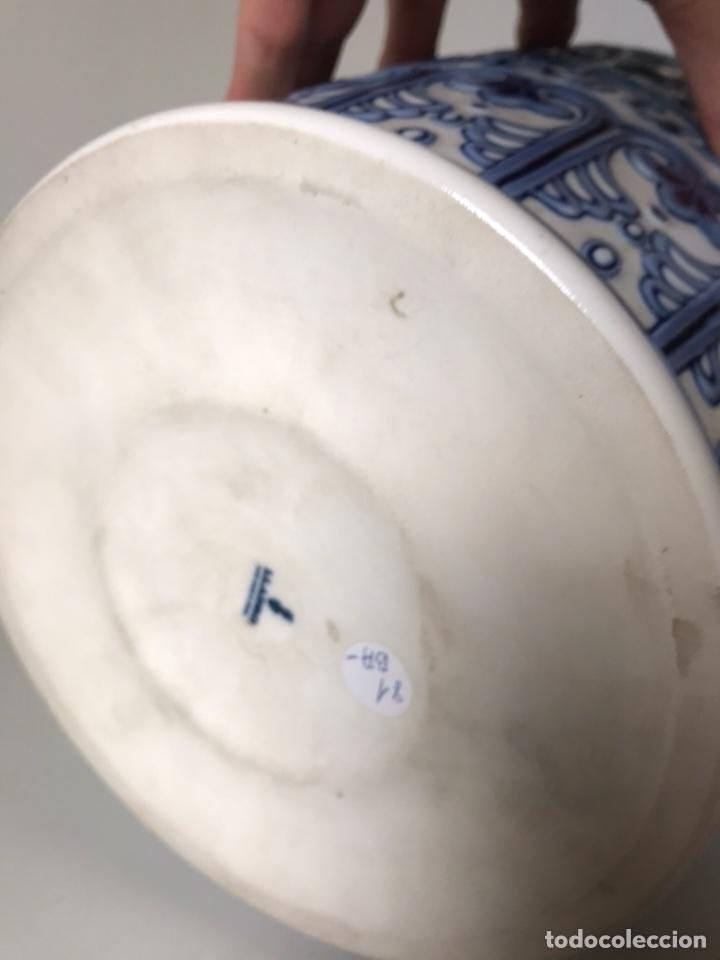 Antigüedades: Jarrón Porcelana- Lladró- Jarrón Pekín- 48 cm (Dispongo de la pareja) - Foto 9 - 107671610