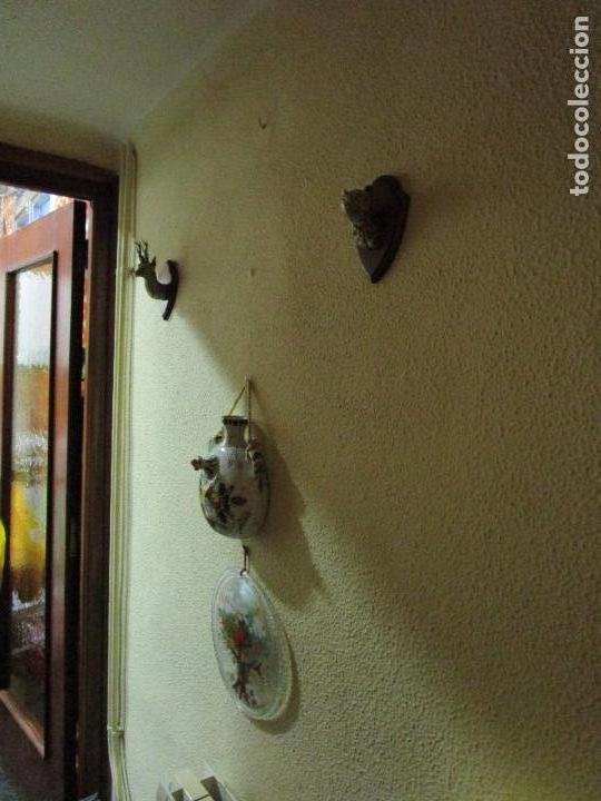 Antigüedades: DOS MINIATURAS DE TROFEOS EN BRONCE CORZO Y OSO - Foto 4 - 107686635