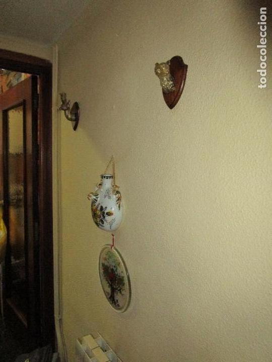 Antigüedades: DOS MINIATURAS DE TROFEOS EN BRONCE CORZO Y OSO - Foto 3 - 107686635