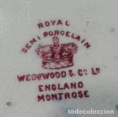 Antigüedades: plato inglés Royal, finales del Siglo XIX - Foto 3 - 107709603