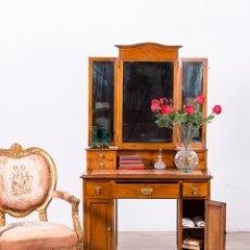 Antigüedades: TOCADOR ANTIGUO MODERNISTA. Lote 107715775