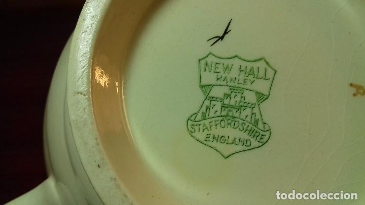 Antigüedades: Tetera inglesa New Hall Hanley - Foto 3 - 107743219