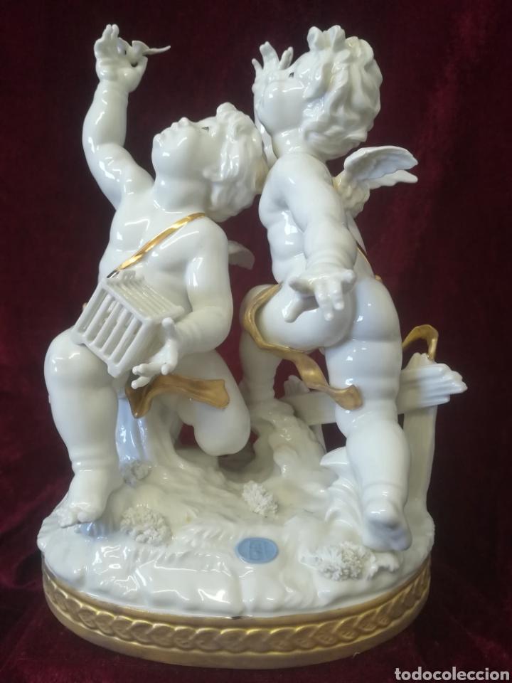 GRUPO ÁNGELES PORCELANA ALGORA (Antigüedades - Porcelanas y Cerámicas - Algora)