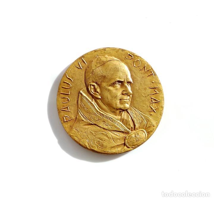 Medalla Papa Paulus Vi Pontifice Maximus 33 Comprar Medallas