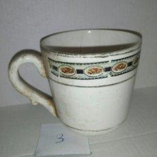Antigüedades: TAZA PORCELANA. Lote 107828935