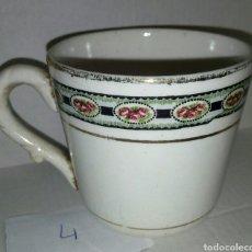 Antigüedades: TAZA PORCELANA. Lote 107829130