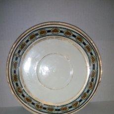 Antigüedades: PLATO PORCELANA. OVIEDO. Lote 107829500