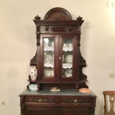 Antigüedades: MUEBLE VAJILLERO ALFONSINO. Lote 107843531