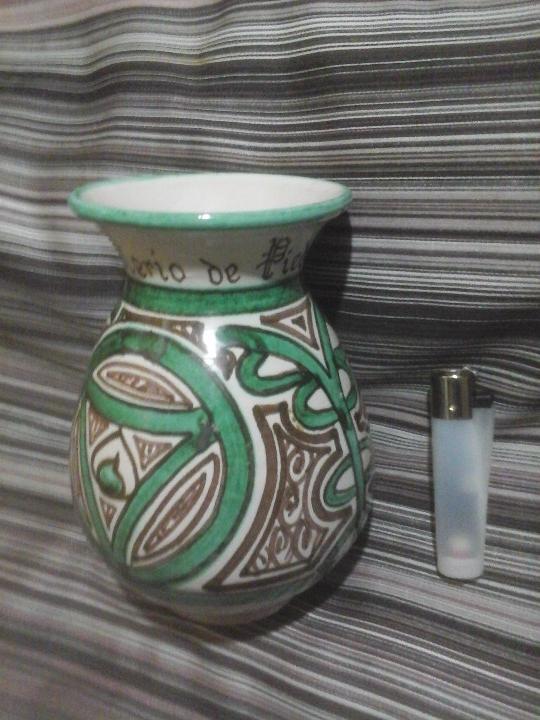 Antigüedades: Jarrón cerámica turolense Domingo punter, Monast. de Piedra - Foto 2 - 107871459