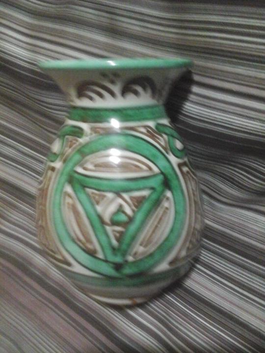 Antigüedades: Jarrón cerámica turolense Domingo punter, Monast. de Piedra - Foto 6 - 107871459