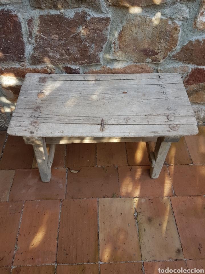 antigua mesa rustica de cocina o matanza. - Kaufen Antike Tische in ...