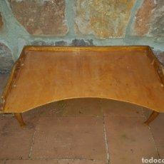Antigüedades: MESITA DE CAMA PLEGABLE. Lote 107913791