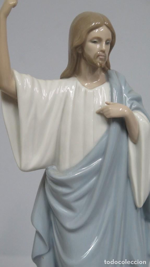 Antigüedades: BONITA FIGURA DE JESUCRISTO DE PORCELANA. NAO LLADRO - Foto 3 - 191871635